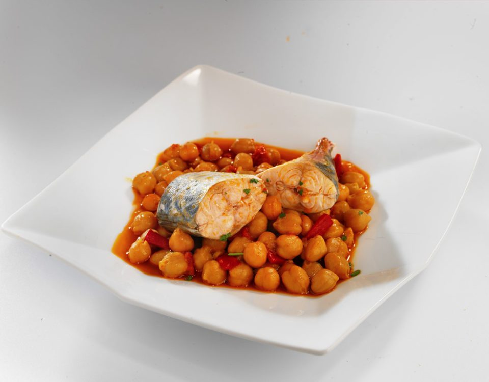 Jureles con Garbanzos